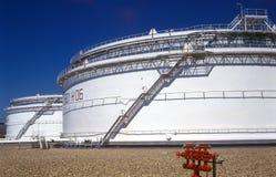 Bacino idrico dell'olio bianco tecnico? Immagine Stock