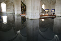 Bacino idrico di Amoreiras di gua del  di Mãe D'à Fotografia Stock