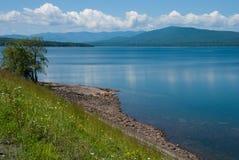 Bacino idrico di Ashokan e il Catskills fotografia stock