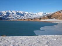 Bacino idrico di Charvak Immagini Stock