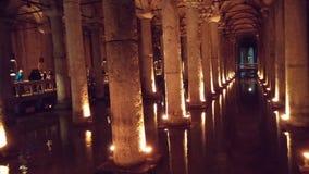 Bacino idrico di Costantinopoli della cisterna dell'acqua Fotografie Stock