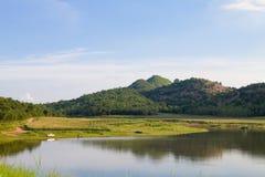 Bacino idrico di Ekamg del hub, Uthai Thani Tailandia fotografie stock