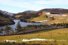 Bacino idrico di Glencourse Immagine Stock