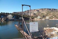 Bacino idrico di irrigazione Immagini Stock Libere da Diritti