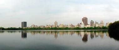Bacino idrico di Jacqueline Kennedy Onassis, Central Park Immagini Stock Libere da Diritti