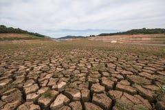 Bacino idrico di Jaguari - sistema di Cantareira - Vargem/SP  Fotografie Stock Libere da Diritti