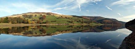 Bacino idrico di Ladybower. L'Inghilterra Fotografia Stock