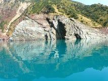 Bacino idrico di Nurek Immagini Stock