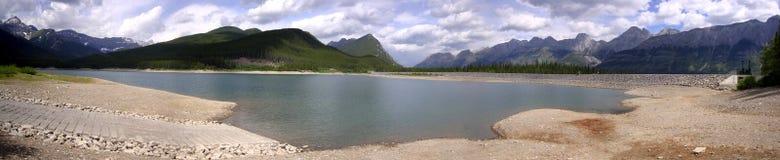 Bacino idrico di panorama Fotografia Stock
