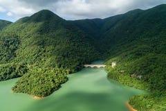 Bacino idrico di Tai Tam Tuk Immagine Stock Libera da Diritti