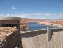 Bacino idrico massiccio nel lago Powell, Arizona. Fotografia Stock Libera da Diritti