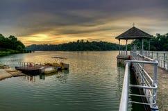 Bacino idrico Singapore di MacRitchie Fotografia Stock
