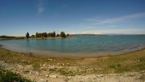 Bacino idrico su Seyhan River nell'Adana in Turchia del sud stock footage