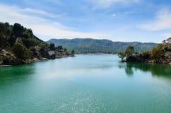 Bacino idrico Talave fotografie stock