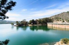 Bacino idrico Talave II fotografie stock libere da diritti