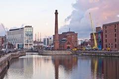Bacino Liverpool del Albert Fotografia Stock