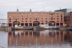 Bacino Liverpool del Albert Immagine Stock