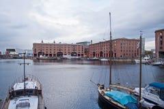 Bacino Liverpool del Albert Fotografie Stock Libere da Diritti