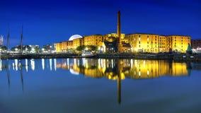 Bacino Liverpool del Albert Immagine Stock Libera da Diritti