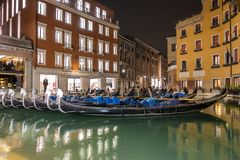 Bacino Orseolo in Venice stock images