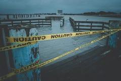 Bacino sommerso della barca Fotografia Stock Libera da Diritti