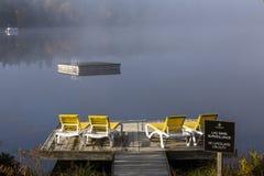 Bacino su bacca-Superieur, Mont-tremblant, Quebec, Canada Fotografia Stock