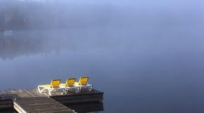 Bacino su bacca-Superieur, Mont-tremblant, Quebec, Canada Immagine Stock Libera da Diritti
