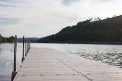 Bacino sul fiume Connecticut Fotografia Stock Libera da Diritti