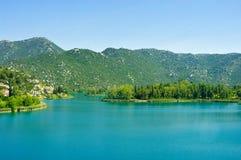 Bacinska Jezera See Lizenzfreies Stockfoto