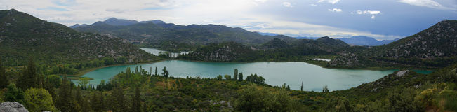 Bacinska lakes 01 Stock Photography