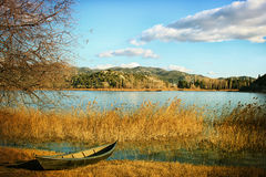Bacinska sjöar Arkivfoton