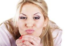 Bacio Fotografia Stock Libera da Diritti