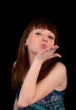 Bacio Fotografia Stock