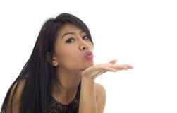 Bacio asiatico Immagine Stock Libera da Diritti