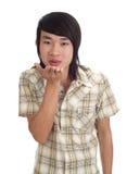 Bacio asiatico immagini stock libere da diritti