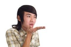 Bacio asiatico Fotografia Stock Libera da Diritti
