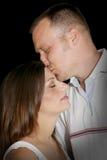 Bacio degli amanti Immagini Stock Libere da Diritti