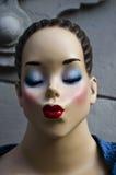Bacio del Mannequin Fotografie Stock Libere da Diritti