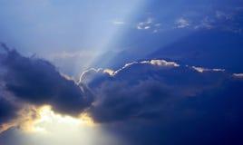 Bacio del temporale. Fotografie Stock