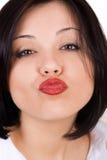Bacio dell'aria Fotografia Stock Libera da Diritti