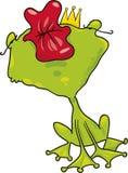 Bacio della rana del principe Immagine Stock Libera da Diritti