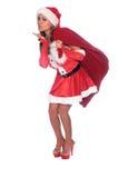 Bacio di salto dell'elfo Fotografia Stock Libera da Diritti