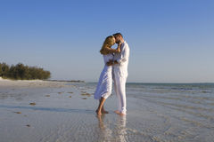 Bacio romantico fotografie stock libere da diritti