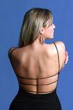 Back. Attractive, woman, , 20s, Beauty stock photo