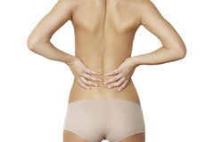 Back ache Royalty Free Stock Image