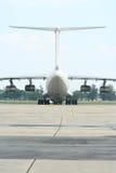 Back airplane Royalty Free Stock Image