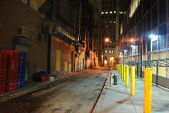 Back Alley. In New York CIty Royalty Free Stock Photos