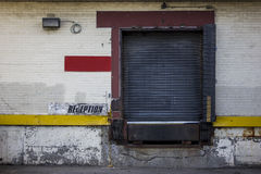 Back Alley Delivery Entrance Royalty Free Stock Photos