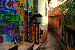 Back alley Royalty Free Stock Photography