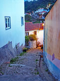 Back Alley of Penedo, Portugal Stock Photo
